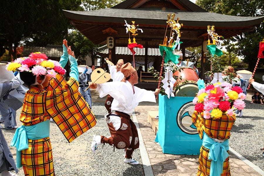 秋津百石踊り奉納五穀豊穣祈願祭