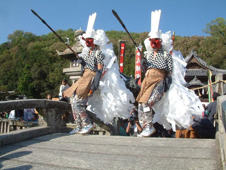 赤穂八幡宮秋祭り