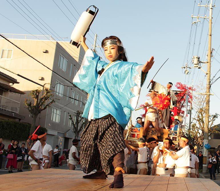 荒井神社 秋季例祭