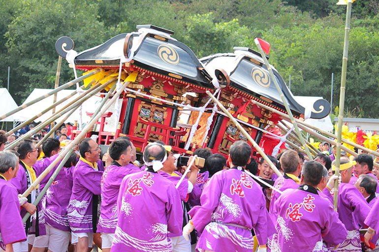 生石神社 秋季例祭