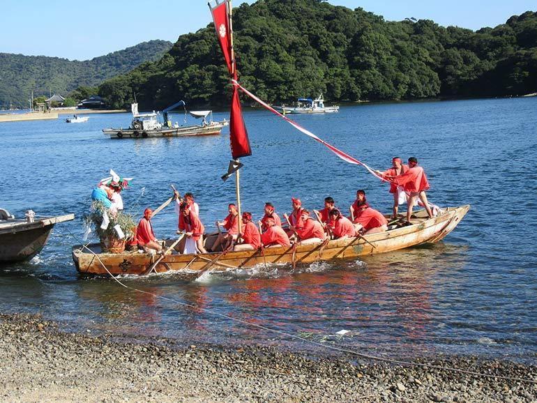 坂越の船祭り
