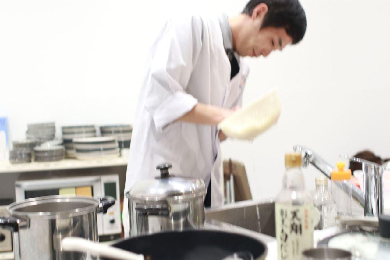 揖保乃糸 製麺屋直伝そうめん教室