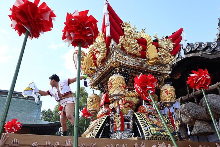曽根天満宮 秋季例祭