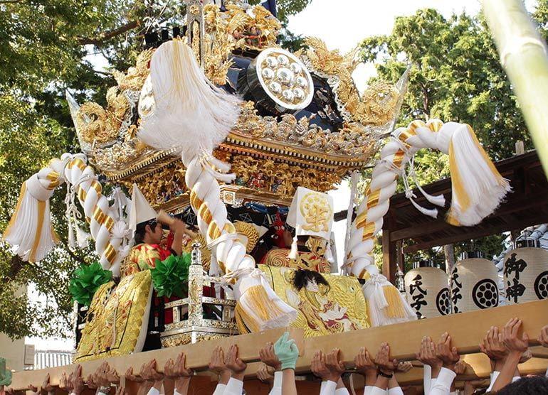 米田天神社 秋季例祭
