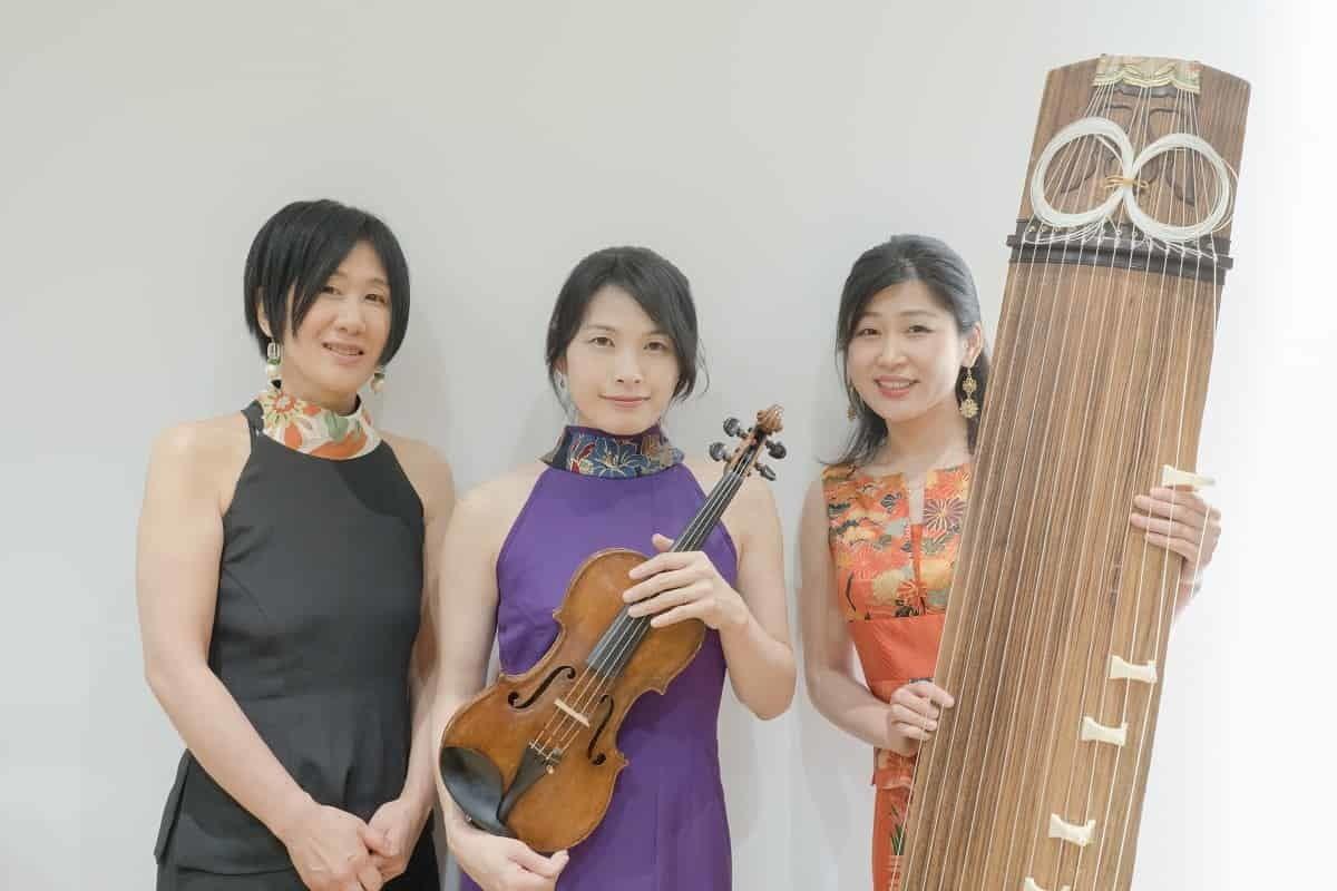 パルナソスアフタヌーンコンサート 箏・ヴァイオリン・ピアノ SAKURA ~和洋が織りなす音楽の舞~