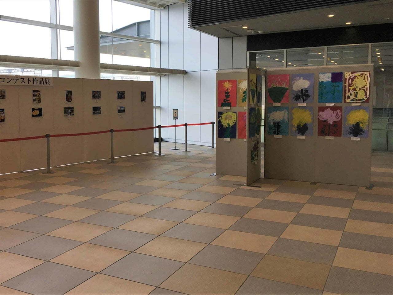 第44回 菊花展覧会児童写生作品展
