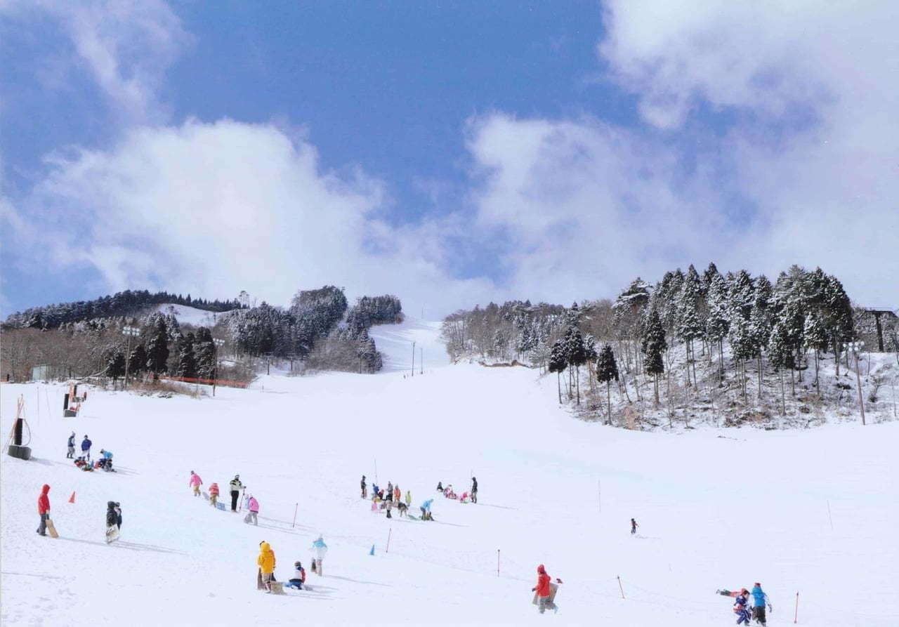 ちくさ高原スキー場 スキー場オープン