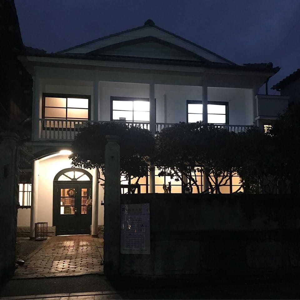 旧中川邸の夜カフェ