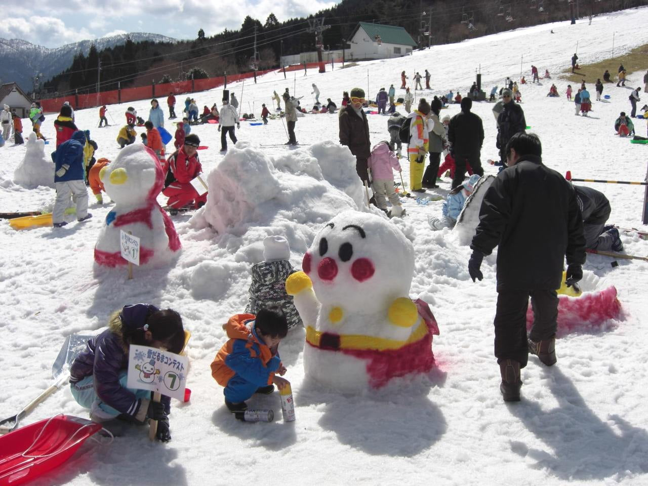 ちくさ高原雪まつり