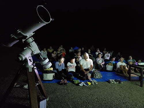 県立国見の森公園プログラム 国見山上天体観測会 ※プログラムの中止・内容変更の可能性あり