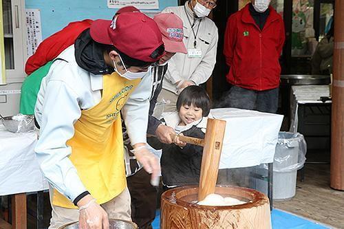 県立国見の森公園プログラム 年末餅つき大会