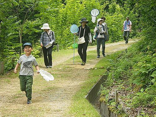 【中止】県立国見の森公園プログラム 蝶と植物観察会