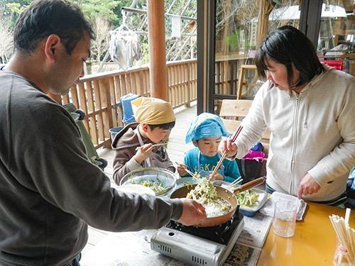 【中止】県立国見の森公園プログラム 山野草を楽しもう(山野草を天ぷらにしよう)