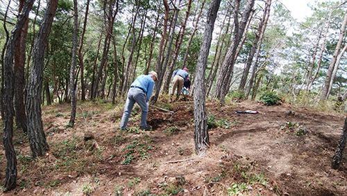 【中止】県立国見の森公園プログラム マツタケ山を整備しよう