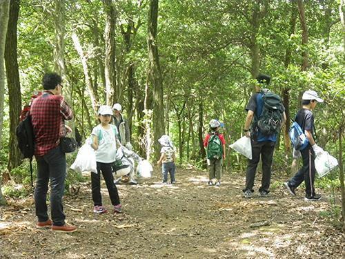 県立国見の森公園プログラム 梅雨のきのこ観察会