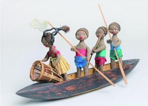 夏の特別展「世界の船の造形」