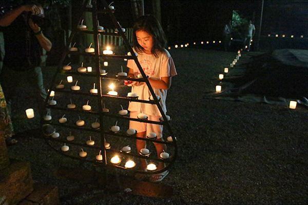 庭田神社 八朔祭
