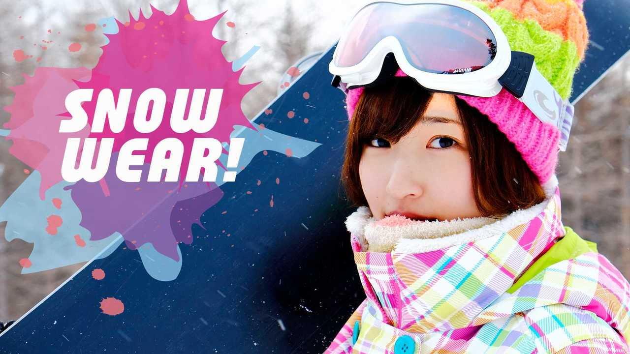 【2018年】冬を楽しもう!スノーボード ウェア紹介【レディースver.】