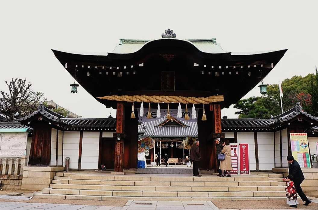 姫路播磨国総社の初詣とグルメ特集