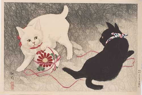 今も昔もねこが好き!「アートになった猫たち展」 書写の里・美術工芸館