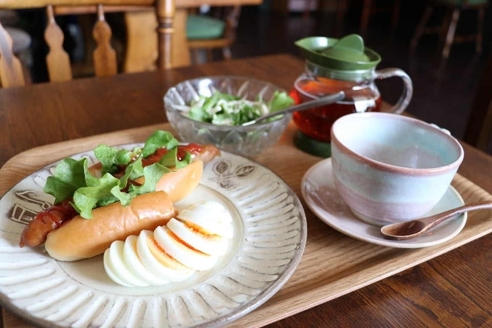 SNS等で人気を博している「純喫茶」の雰囲気も漂う姫路のカフェ木音~konon