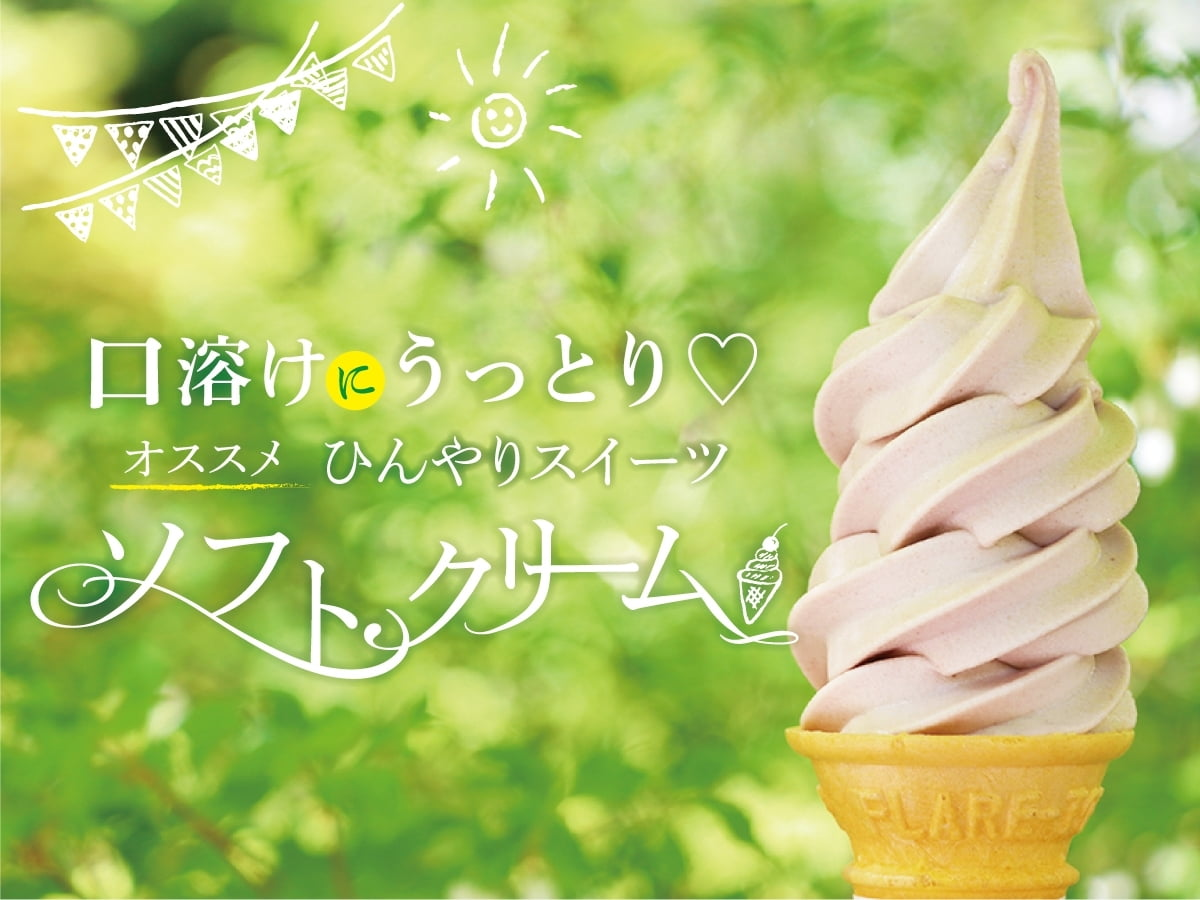 【口溶けにうっとり♡ひんやりスイーツ】「必ず」食べたい!姫路の人気おすすめソフトクリーム5選