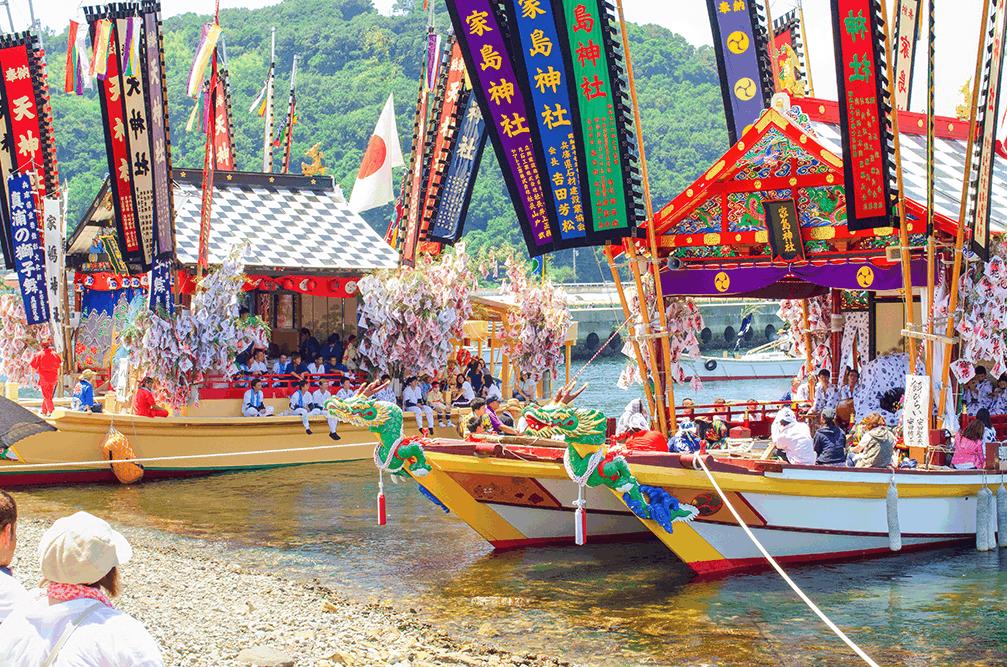 【7月24日・25日開催】家島天神祭・花火大会2018~島の夏祭り~
