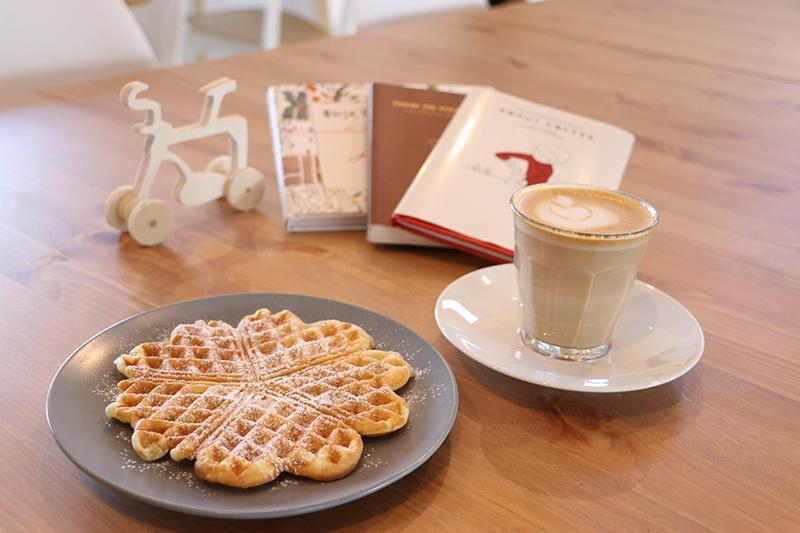 ニュースタイル!「サイクルカフェ」登場!Piece by piece coffee&Cycle Mark