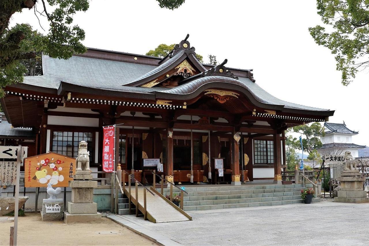赤穂浪士の里、大石神社の初詣と人気グルメ