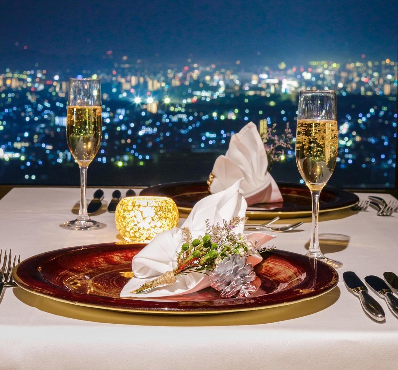 セトレハイランドヴィラ姫路がお届けする天空のクリスマスディナー