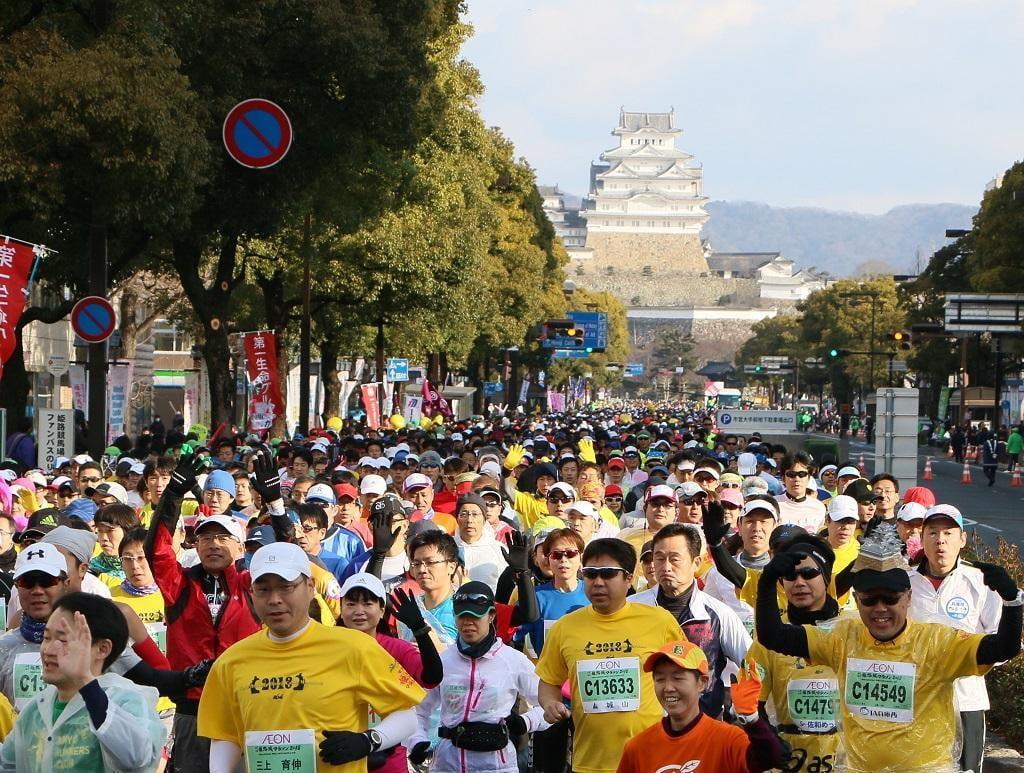 世界遺産姫路城マラソン2019を応援しよう!マラソンコース・交通規制・マラソン祭をチェック