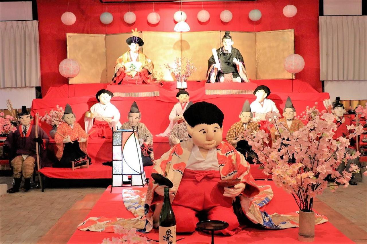 奥播磨かかしの里ひな祭り2019等身大のかかし雛人形に会いに行こう!