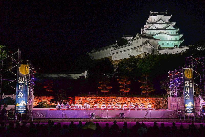 【中秋の名月】姫路城・好古園で観る月夜!姫路市の「第37回 姫路城観月会」2019年の最新情報