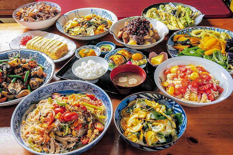 【三木】古民家レストラン「旬彩処 和輪笑」のおばんざい。自然に癒されながらスローな時間を愉しんで。