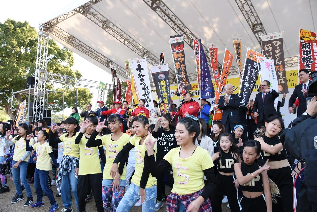 2019年「第11回ご当地グルメでまちおこしの祭典!B-1グランプリ in 明石」が開催!