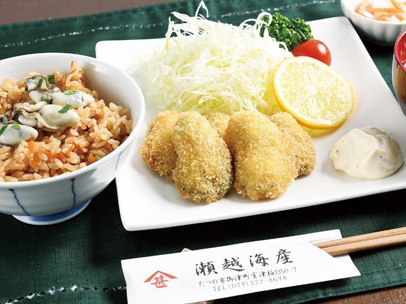 【室津】瀬越海産 大粒で濃厚な牡蠣を堪能!牡蠣バーベキューが楽しめるお店