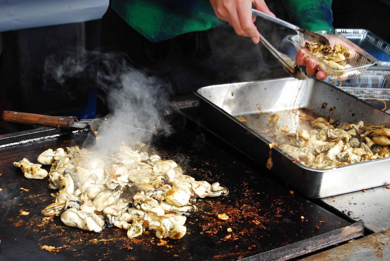 【中止 兵庫・明石】明石公園 冬の味覚市 2020~牡蠣グルメやフグ汁の販売も!~