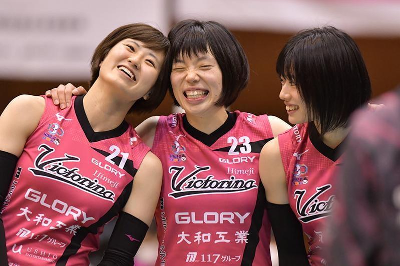 【ヴィクトリーナ姫路V1残留決定】来季も会場をヴィクトリーナピンクで染めよう!