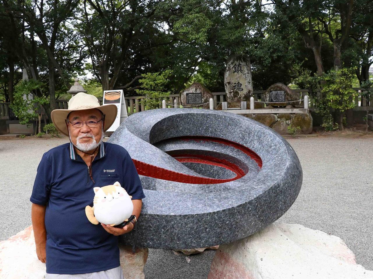 【姫路在住】世界で活躍する彫刻家・牛尾啓三さんへインタビュー