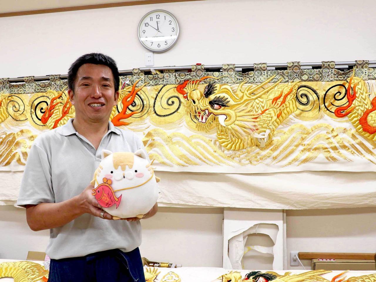 【姫路】播州秋祭りに携わる職人にインタビュー 縫い師編【川村刺繍】