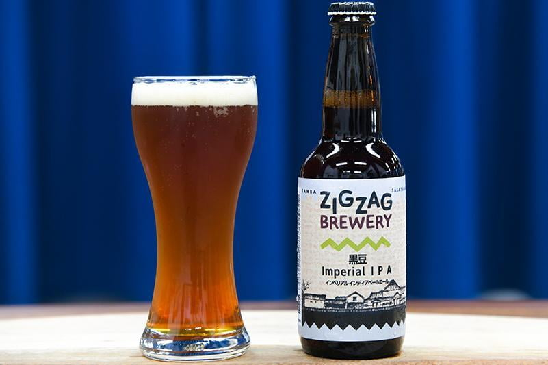 ZIGZAG BREWERY「黒豆Imperial IPA」の写真