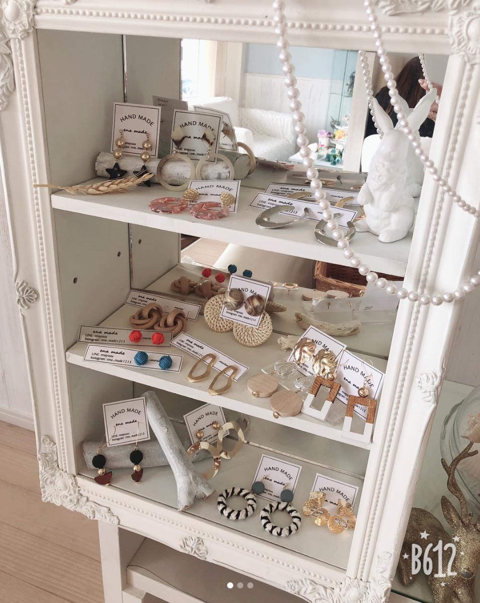 is interior design for me nail salon for me nail salon pinterest ハンドメイドアクセサリーの販売始めました☆