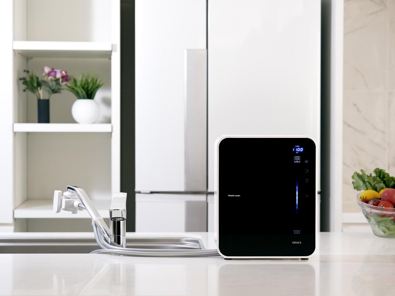 体にも家計にも優しい!水素水が作れる『家庭用管理医療機器』整水器選ばれてNo.1|株式会社日本トリム