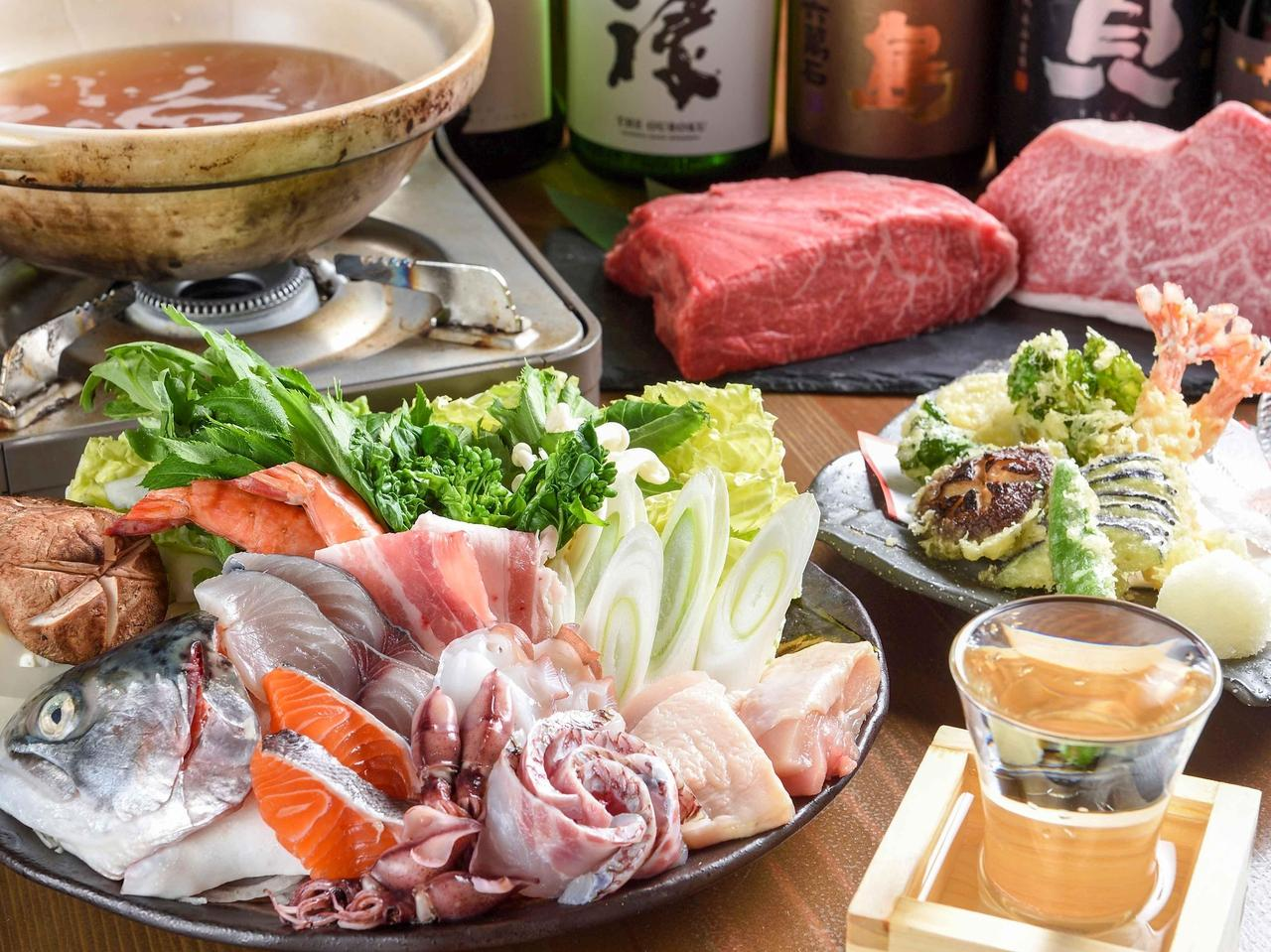 【姫路】日本酒にこだわり とれたて海鮮とブランド肉がリーズナブルに味わえる|酔部屋 いつもん床